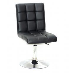 Кресло Onder Mebli Augusto CH - Base ЭкоКожа Черный