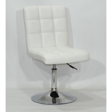 Кресло Onder Mebli Augusto CH - Base ЭкоКожа Белый