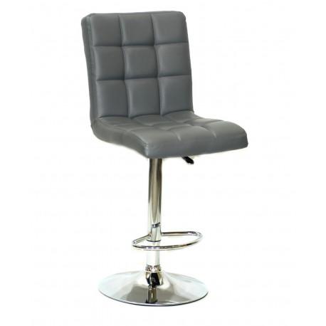 Кресло Onder Mebli Augusto Bar CH - Base ЭкоКожа Серый 1001