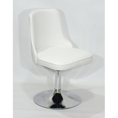 Кресло Onder Mebli Адам CH - Base Экокожа Белый