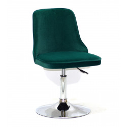 Кресло Onder Mebli Адам CH - Base Бархат Зеленый В-1003