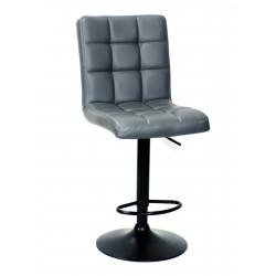 Кресло Onder Mebli Augusto Bar BK - Base ЭкоКожа Серый 1001