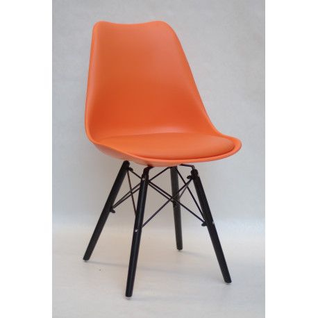 Стул Onder Mebli Милан B-BK Оранжевый 70