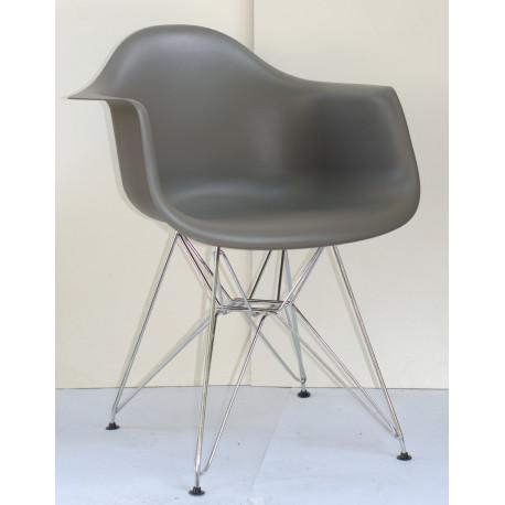 Кресло Onder Mebli Леон CH-ML Серый 21