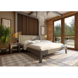 Ліжко Глорія (низька изножье) ЧДК