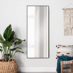 Зеркало ростовое в алюминиевой раме ЛДСП Art-com Alum Коричневый