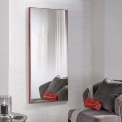 Зеркало ростовое в алюминиевой раме ЛДСП Art-com Alum Красный