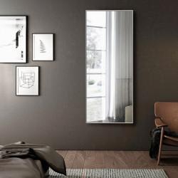 Зеркало ростовое в алюминиевой раме Art-com Alum Серебро