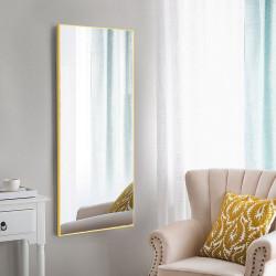 Зеркало ростовое в алюминиевой раме Art-com Alum Желтый
