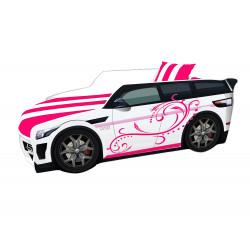 Кровать+матрас Viorina-Deko Premium Розовый