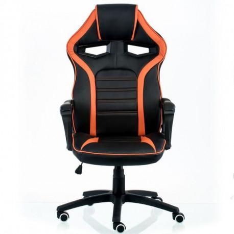 Кресло Game black/orange Special4You Technostyle
