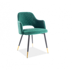 Кресло Franco вельвет зеленый 78 Signal