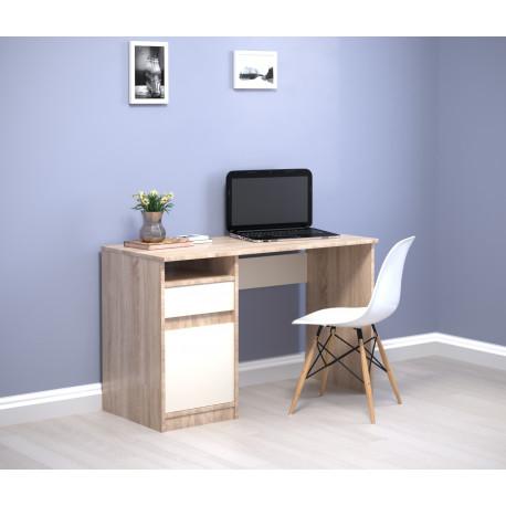 Стол письменный с тумбой Jusk A 120х53 Intarsio