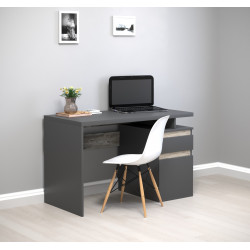 Стол письменный с тумбой Kubik 120х60 Intarsio