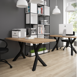 Стол письменный Брайт 120 Металл-Дизайн Лофт