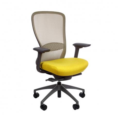 Кресло компьютерное эргономичное In-Point Yellow KreslaLux
