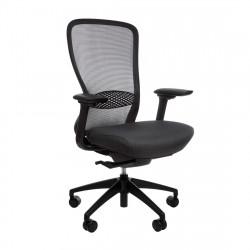 Кресло компьютерное эргономичное In-Point Black KreslaLux