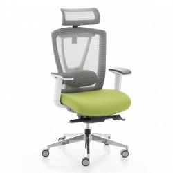 Кресло компьютерное эргономичное Ergo Chair 2 Green KreslaLux