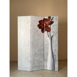 Ширма Кантри 180х135 Цветок в вазе