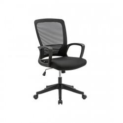 Кресло операторское Target black KreslaLux