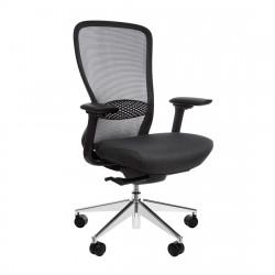 Кресло компьютерное эргономичное In-Point Alu Black KreslaLux