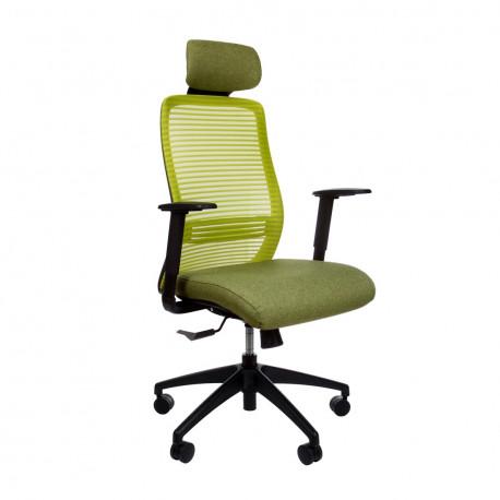 Кресло компьютерное эргономичное Era Green KreslaLux