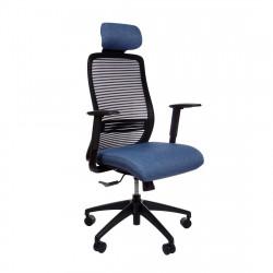 Кресло компьютерное эргономичное Era Blue KreslaLux