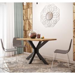 Стол Кросс 120 Металл-Дизайн Лофт
