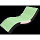 Матрас беспружинный вакуумный Take&Go Bamboo Neo Green
