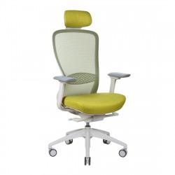 Кресло компьютерное эргономичное In-Point LIGHT GREY + M68002 KreslaLux