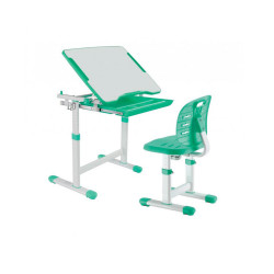 Комплект парта і стілець-трансформери Piccolino III Green FunDesk