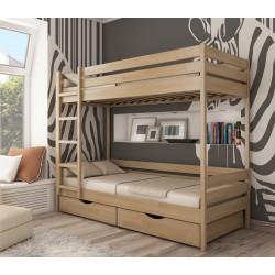 Кровать двухъярусная из дерева Дуэт Эстелла