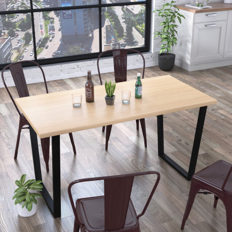 Стол обеденный Трапеция 138 см Loft design
