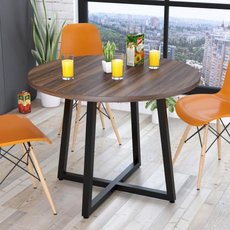 Стол круглый Бланк 100 см Loft design