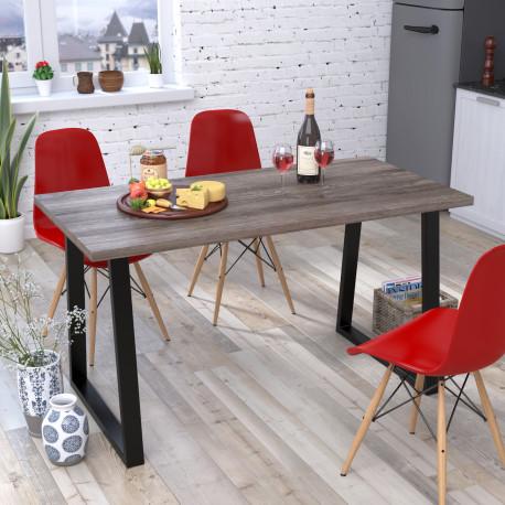 Стол обеденный Титан 138 см Loft design