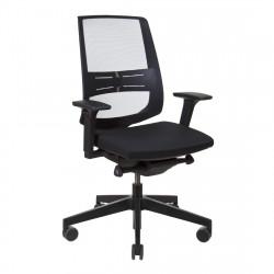 Кресло компьютерное эргономичное Profim Light Up (250SL Black P61PU, NX-16) KreslaLux