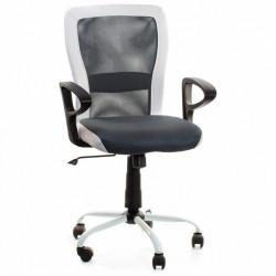 Кресло Leno CH TILT черно-серое Office4You Technostyle