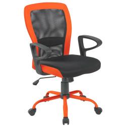 Кресло Leno CH TILT Grey-Orange Office4You Technostyle