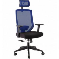 Кресло JOY Black-blue PL TILT Special4You Technostyle