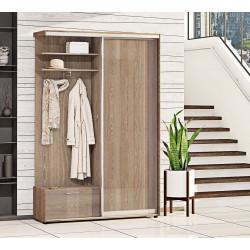 Прихожая-купе Вариант 1 ДСП 100 см Комфорт-мебель