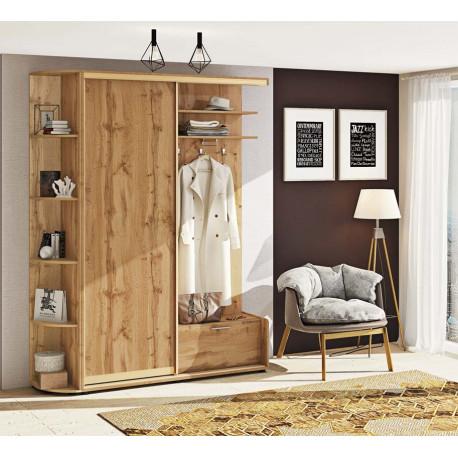 Прихожая-купе Вариант 3 ДСП Комфорт-мебель