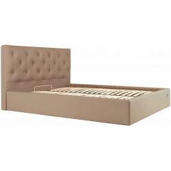 Ліжко з м'яким узголів'ям Брістоль Richman Стандарт Кожзам Флай 2213