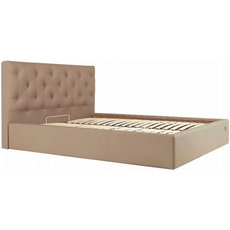 Кровать с мягким изголовьем Бристоль Richman Стандарт Кожзам Флай 2213