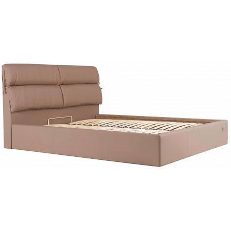 Кровать с мягким изголовьем Эдинбург Richman Стандарт Кожзам Флай 2213