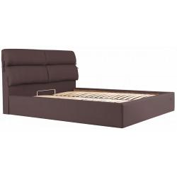 Кровать с мягким изголовьем Эдинбург Richman Стандарт Кожзам Флай 2231