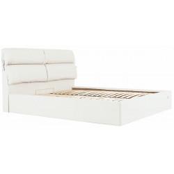 Ліжко з м'яким узголів'ям Единбург Richman Стандарт Кожзам Флай 2200