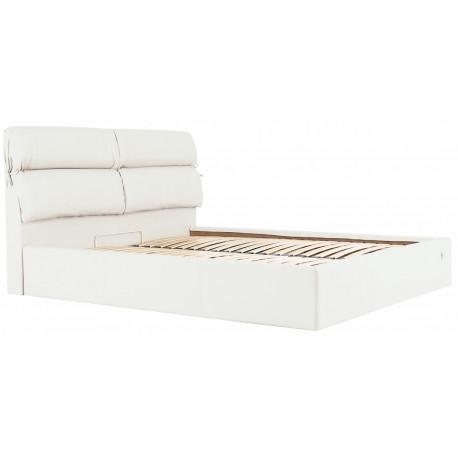 Кровать с мягким изголовьем Эдинбург Richman Стандарт Кожзам Флай 2200