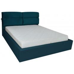 Кровать с мягким изголовьем Эдинбург Richman Стандарт Ткань Миссони 17