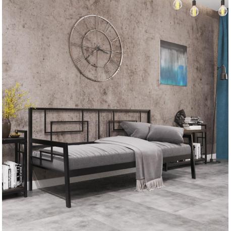 Кровать-диван в стиле лофт Квадро Металл-Дизайн Лофт