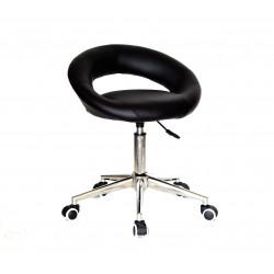 Кресло офисное Onder Mebli Holy Modern Office ЭкоКожа Черный